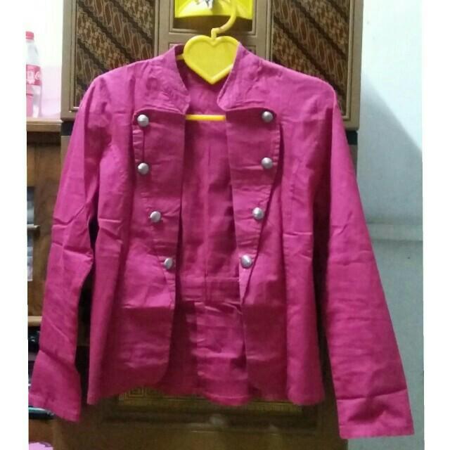 Blazer Pink Fuchsia