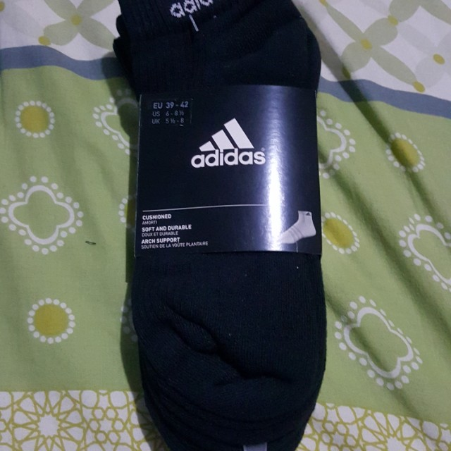 BN Black Adidas Lo Cut Sock