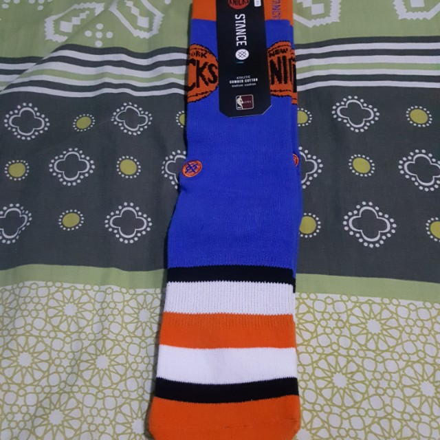 BNWT Original NBA New York Knicks Stance Socks