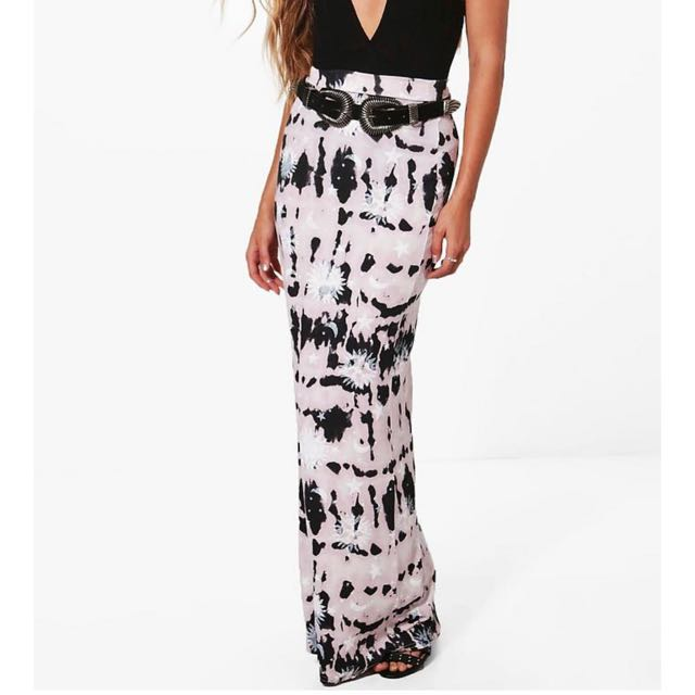 Boohoo Maxi Skirt BNWT