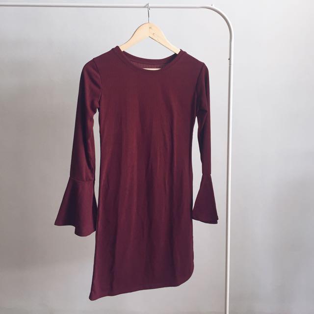 BRAND NEW knit bodycon dress