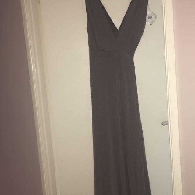 Brand new wrap maxi dress