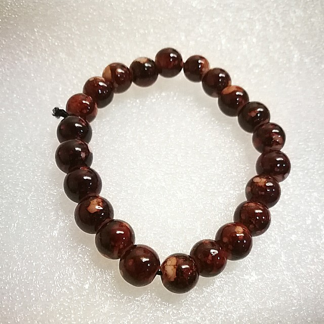 Brown Bead Bracelet Women S Fashion
