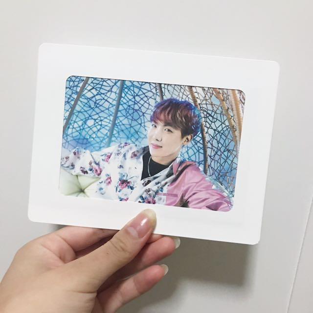 BTS JHOPE WINGS TOUR VER 2 PAPER FRAME PHOTO