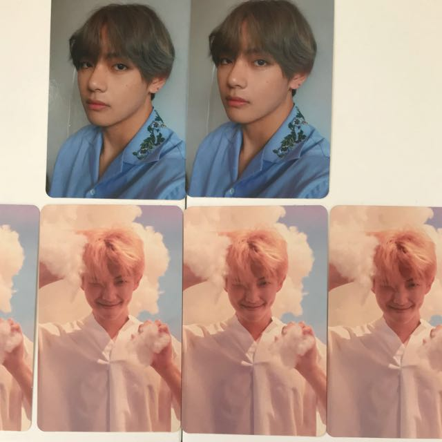 Bts love yourself 'her' photocards