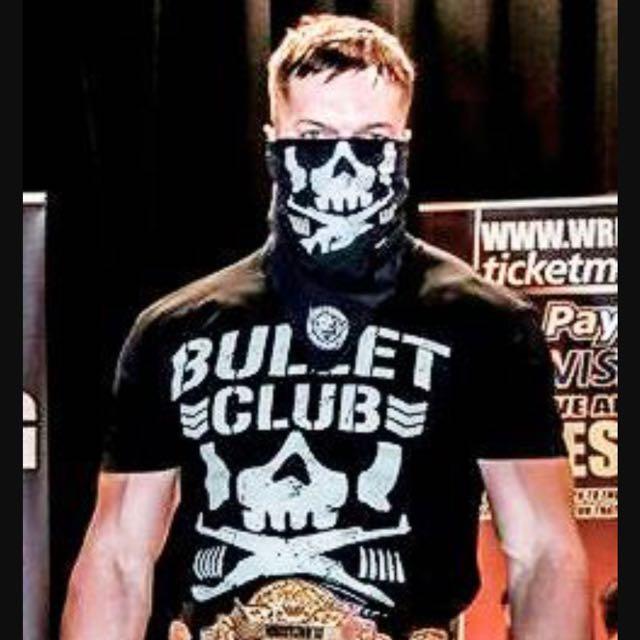 Bullet Club Face Mask NJPW