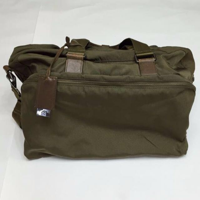 Calvin Klein CK 旅行包 包包 墨綠色