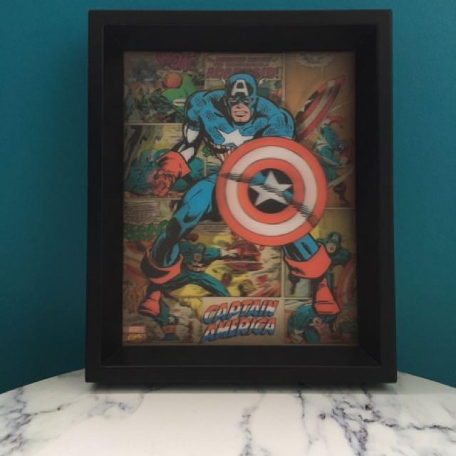 Captain America Hologram
