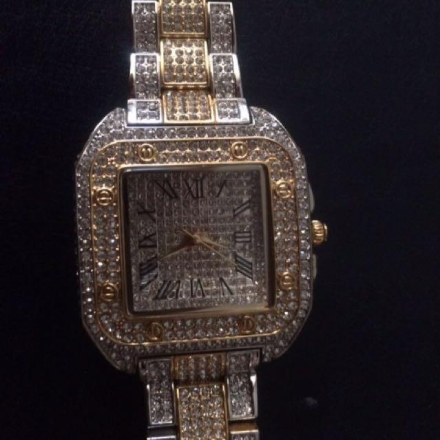 Cartier inspired watch