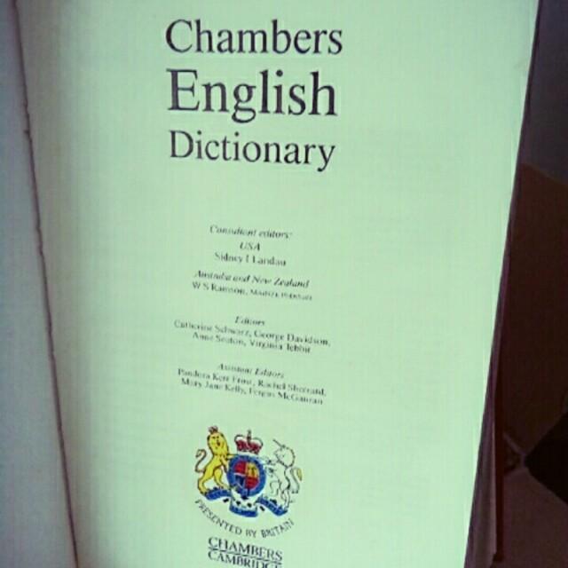Chambers English Dictionary