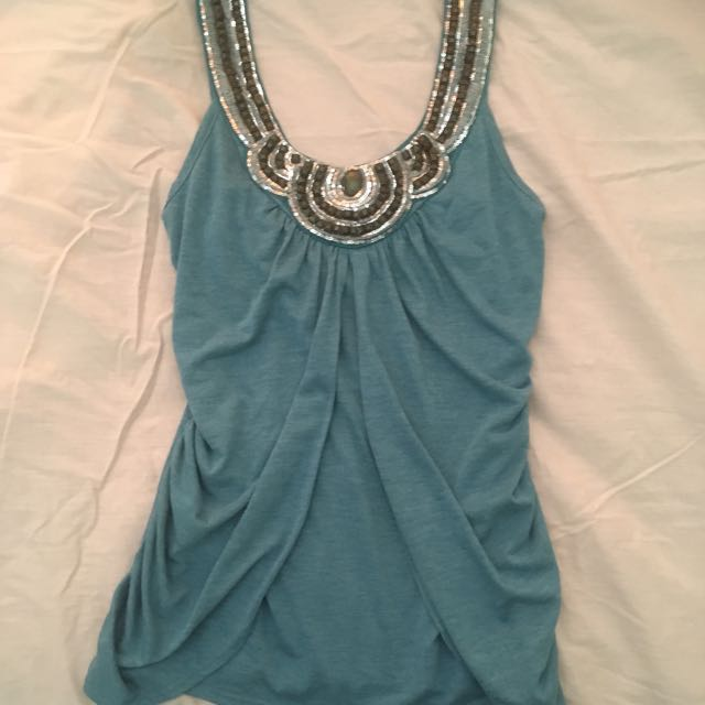 Charlotte Russe patterned top