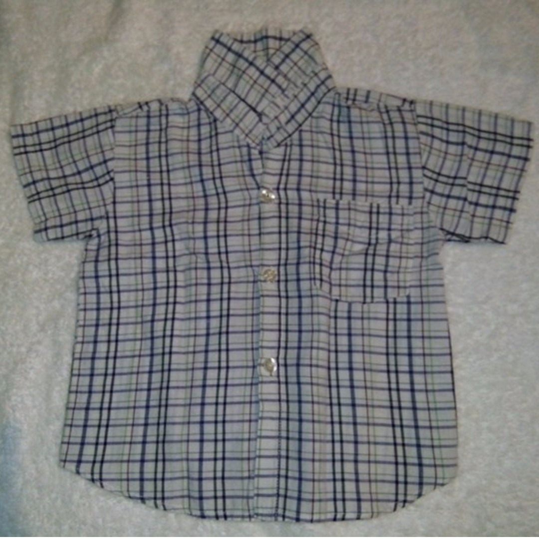 Checkered Polo for 3-4 years old toddler
