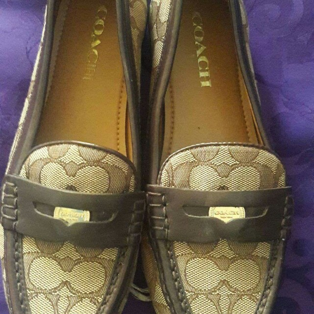 Original Coach Loafer Shoes 37.5
