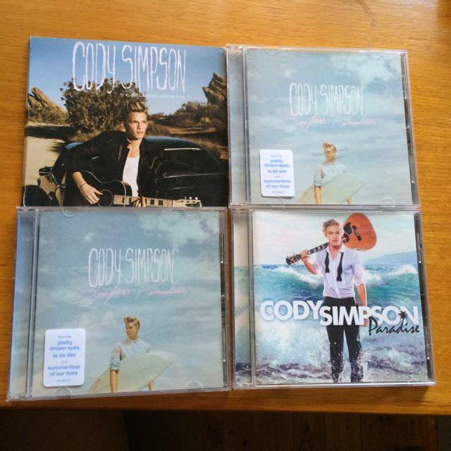 Cody Simpson Albums