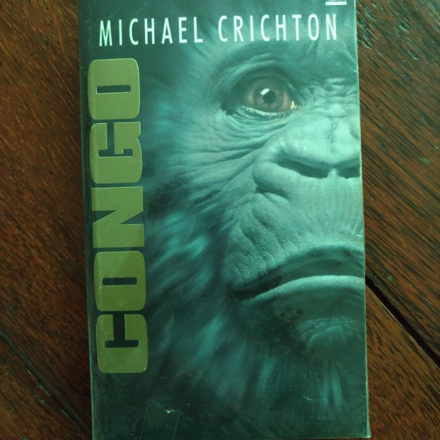 Congo by Micharl Crichton