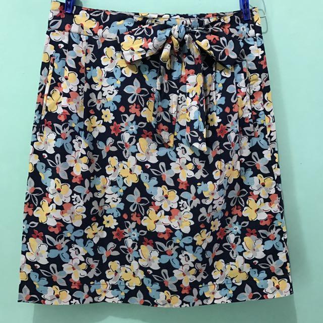 Contempo Floral Skirt