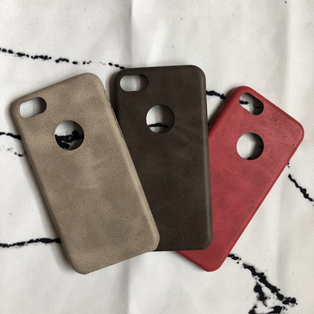 Custom Leather Engraved Case for iPhone 7 and iPhone 8
