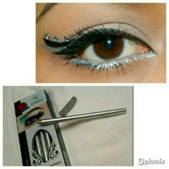 Davis Eye & Lip Liner Pencil SILVER