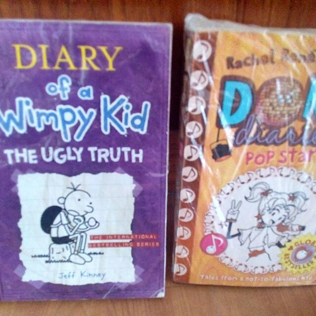Dork Diaries/ Diary Of A Wimpy Kid