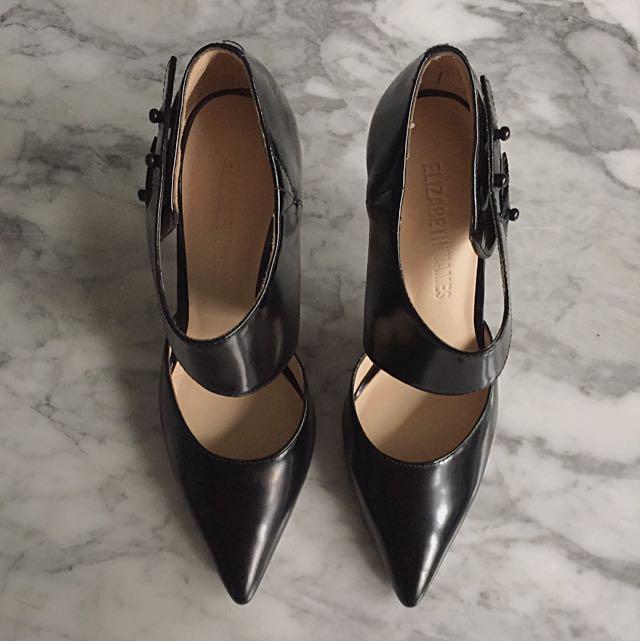 Elizabeth & James Black High Heels Shoes