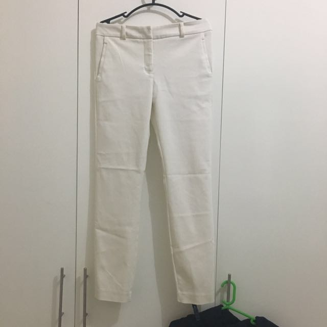 Ever New White Pants EU 34
