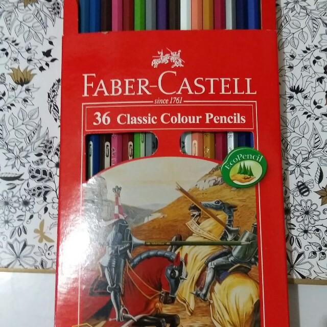 Faber castell 36 classic colour pencils