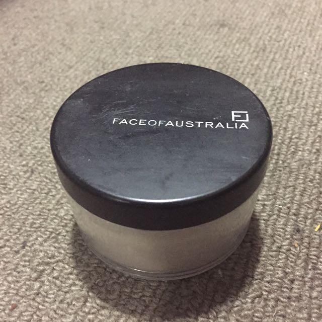 Face Of Australia Loose Translucent Powder