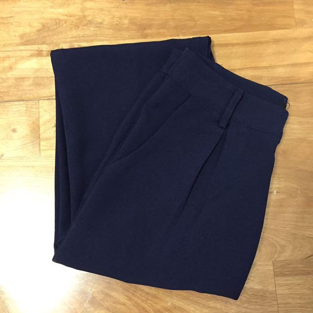 Fe'cha 深藍西裝長褲