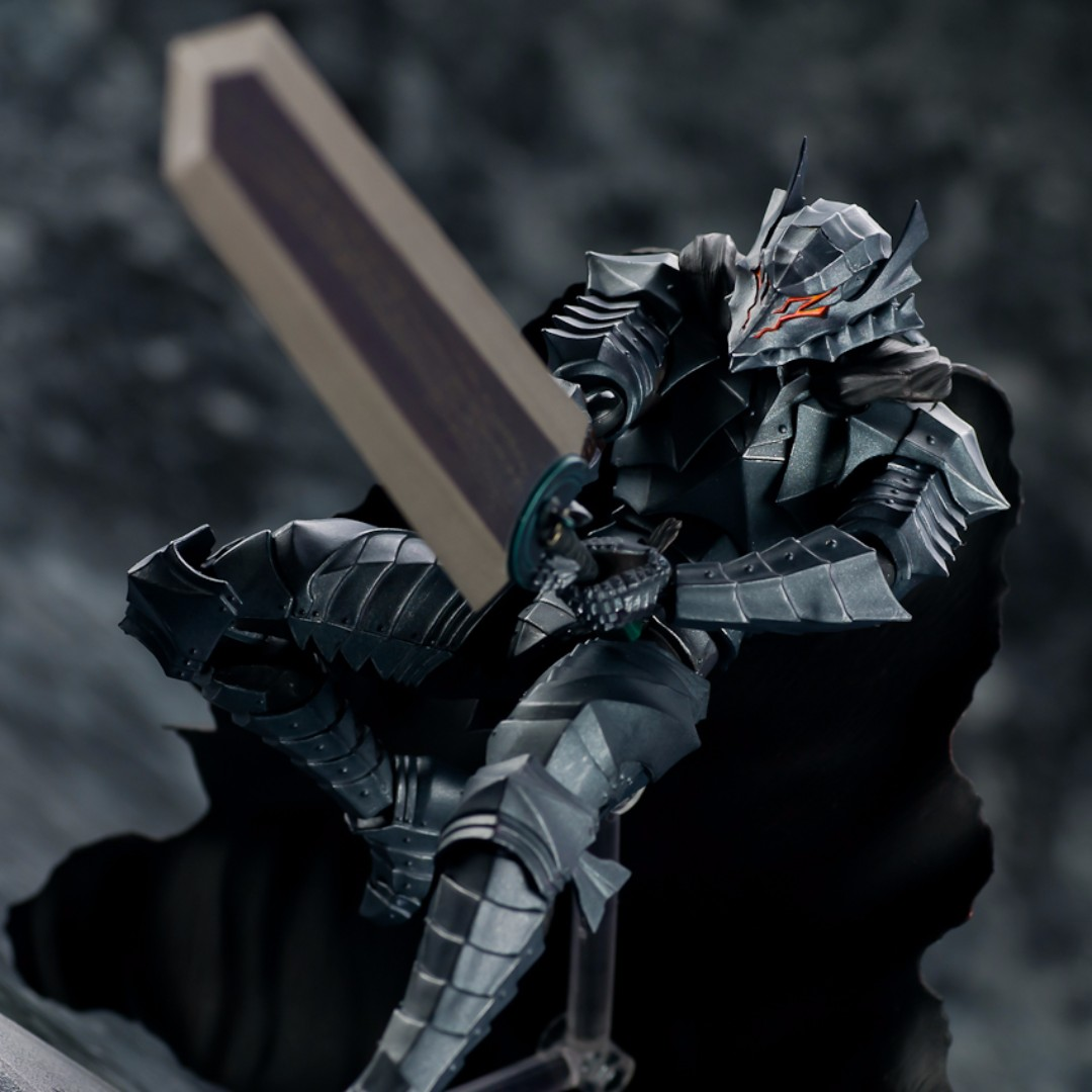 Figma BERSERK ARMOR GUTS Figure Exclusive Limited Edition