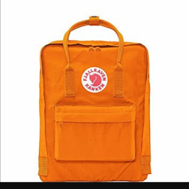 Authentic Fjallraven Classic Kanken orange