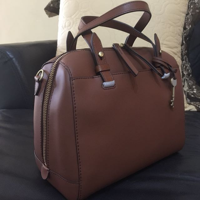 Fossil rachel satchel brown 7bb9009cbb726