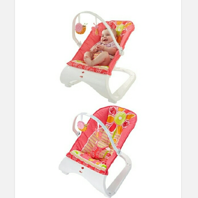 527c85e07 Free postage !! Comfort Curve Bouncer - Floral Confetti   RED ...