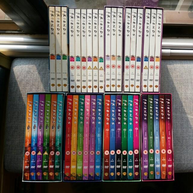 Friends Complete Season 1-10 DVDs