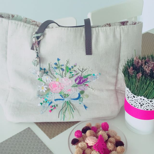 [From FRANCE] Sewing handmade bag