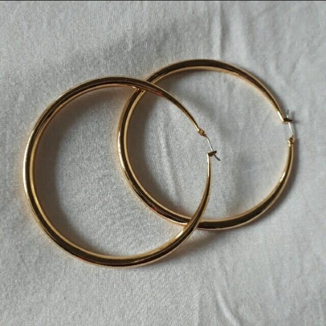 Gold Hoop earings