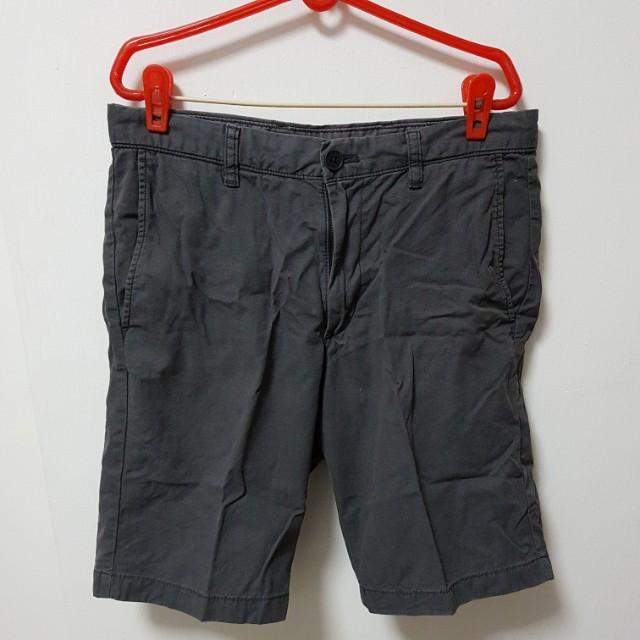 Grey Uniqlo Shorts