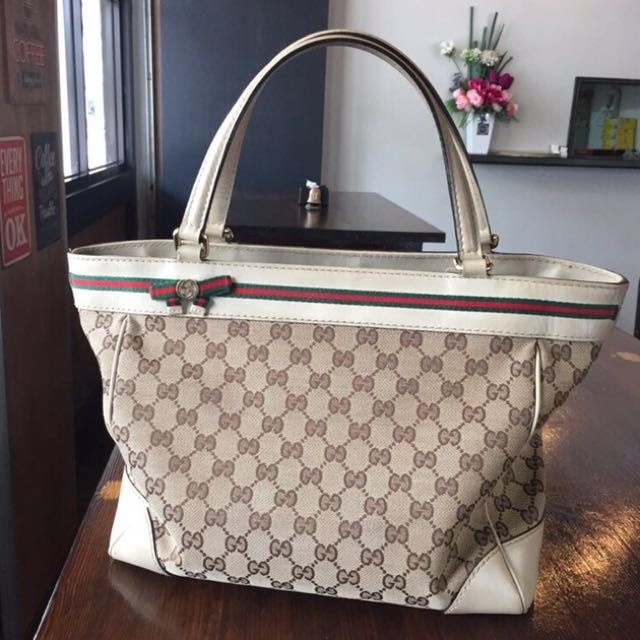 553c121c9da Gucci Mayfair bow tote