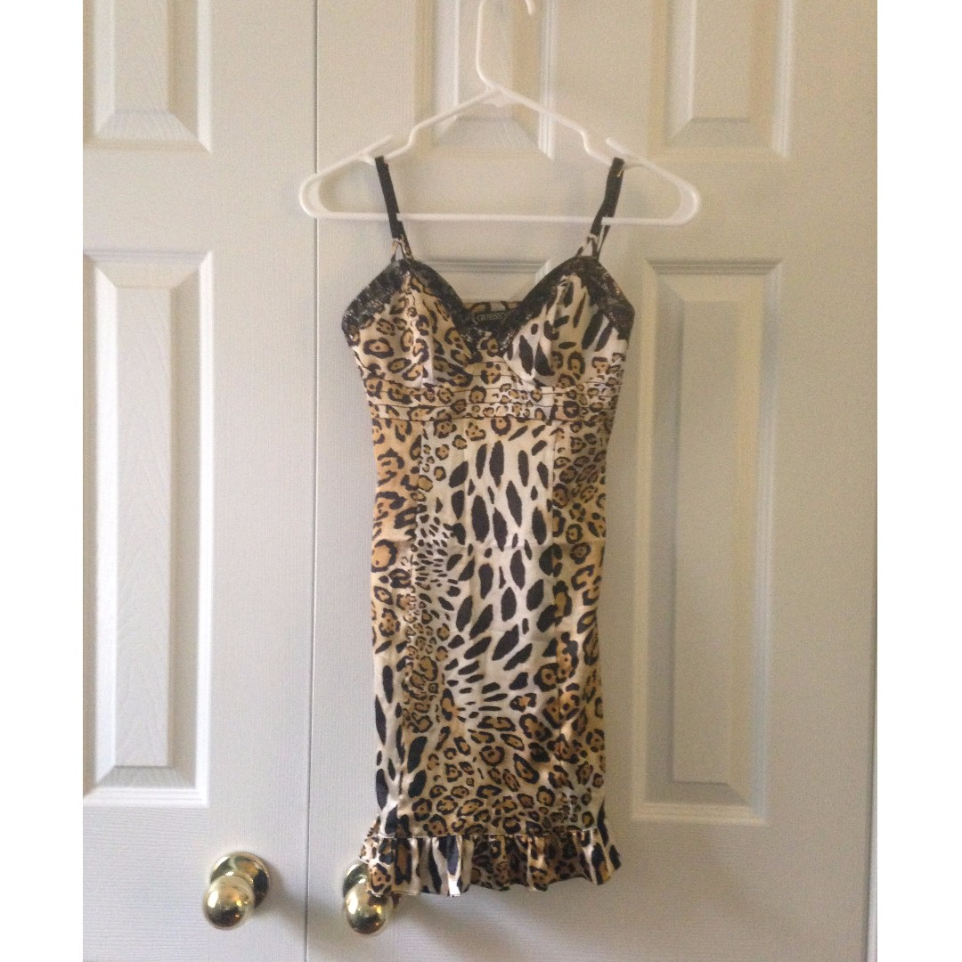 Guess Leapord Dress