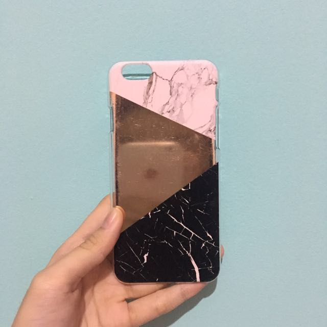HARDCASE MARBLE BERSHKA FOR IPHONE 6/s
