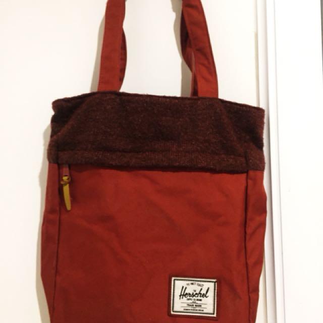 Herschel Harvest tote bag red