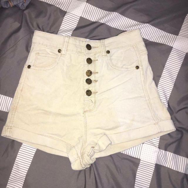 High waisted shorts princess polly dissh universal store peppermayo