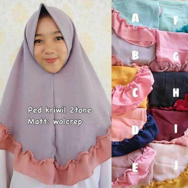 hijab lucu simple