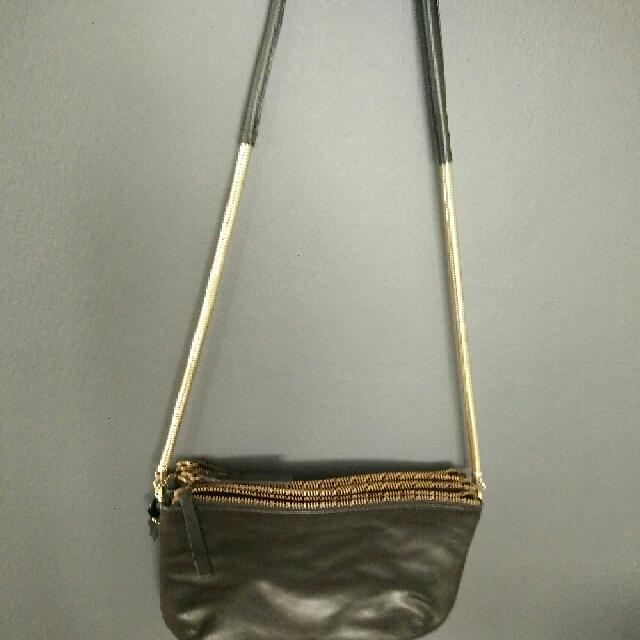 H&M Guinuine Leather should bag