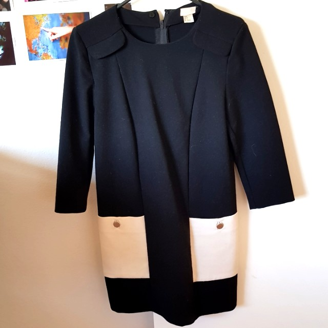 Hm office dress retro like new really good condition size au 8-10