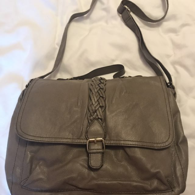 H&M Taupe Cross Body