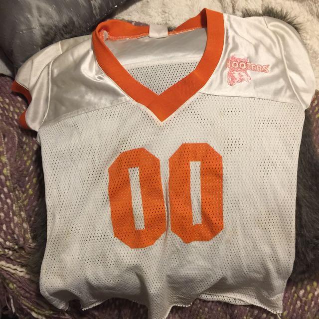 Hooters football jersey