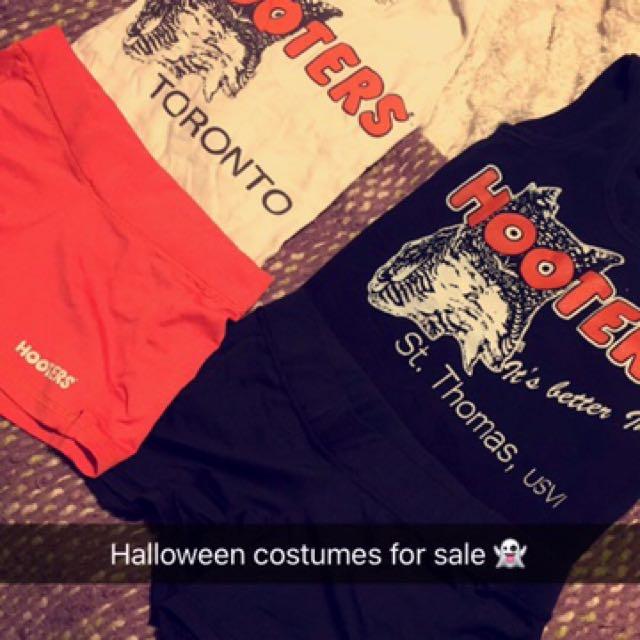 Hooters Halloween costumes