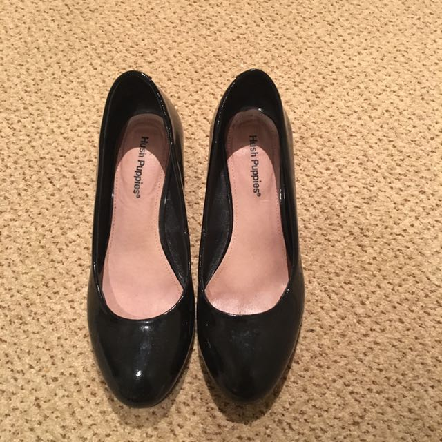 Hush Puppies Leather Pump
