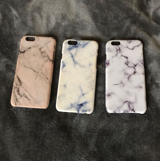Iphone 6 marble hard cases