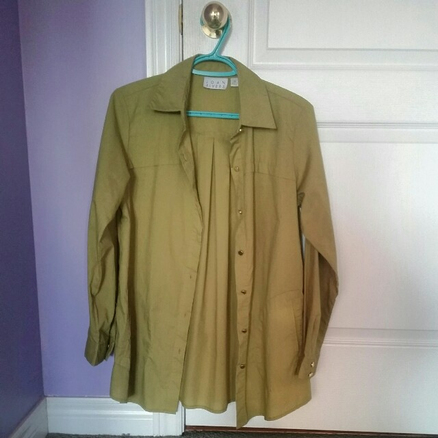 Joan Rivers Boyfriend Dress Shirt